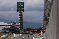 May 13, 2018 - Barcelona, Spain - Motorsports: FIA Formula One World Championship 2018, Grand Prix of Spain, .#33 Max Verstappen (NLD, Aston Martin Red Bull Racing) (Credit Image: © Hoch Zwei via ZUMA Wire)