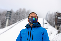 Tomaz Sustersic, Secretary General of OC Planica at preparation of Planica Hill 6 days before FIS Ski Flying World Championships 2020, on December 4, 2020 in Planica, Slovenia. Photo by Matic Klansek Velej / Sportida
