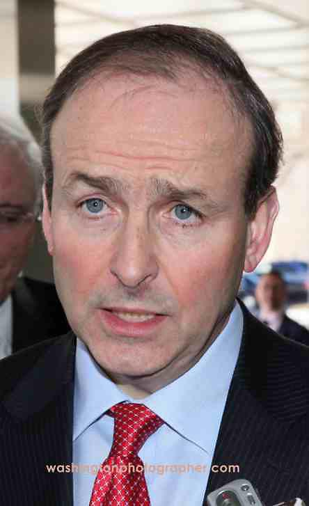 Washington - Former Irish Foreign Minister Micheal Martin Credit: Marty Katz/washingtonphotographer.com with link to http://washingtonphotographer.com