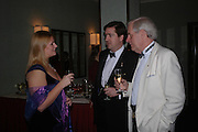 Louise   Noble,( chairman of charity) Count Nicholas Reuttner and Brian Pickering. White Knights Ball, Grosvenor House Hotel 7 January 2005. ONE TIME USE ONLY - DO NOT ARCHIVE  © Copyright Photograph by Dafydd Jones 66 Stockwell Park Rd. London SW9 0DA Tel 020 7733 0108 www.dafjones.com