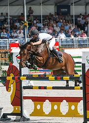 Kramer Siebe (NED) - Van Meta<br /> KWPN paardendagen - Ermelo 2009<br /> Photo © Hippo Foto - Karin Van Der Meul