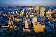 Vintage Miami Skyline