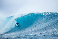 Michel Bourez of Tahiti advanced directly to Round Three of the Outerknown Fiji Pro after winning Heat 11 of Round One in excellent Cloudbreak conditions.