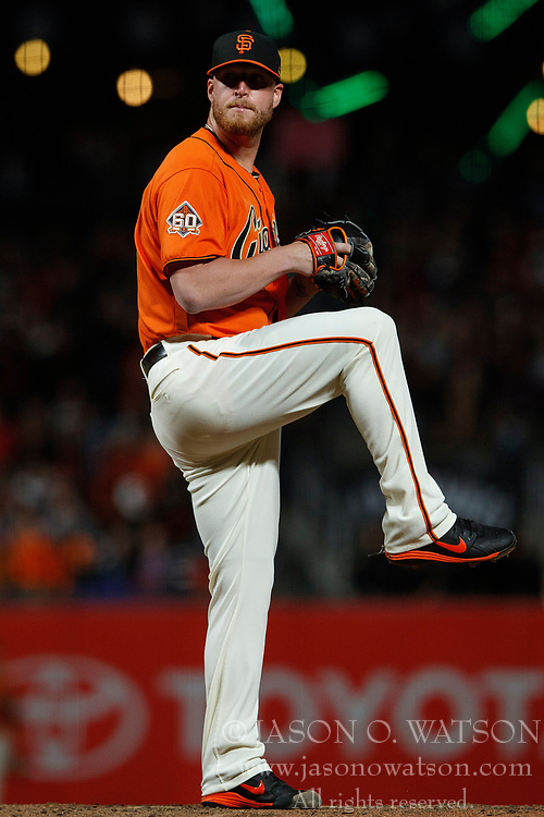 SAN FRANCISCO, CA - JULY 06: Will Smith #13 of the San Francisco Giants pitches against the St. Louis Cardinals during the ninth inning at AT&T Park on July 6, 2018 in San Francisco, California. The San Francisco Giants defeated the St. Louis Cardinals 3-2. (Photo by Jason O. Watson/Getty Images) *** Local Caption *** Will Smith