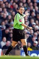 Photo: Daniel Hambury.<br />Tottenham Hotspur v West Ham Utd. The Barclays Premiership. 20/11/2005.<br />Referee Alan Wiley.