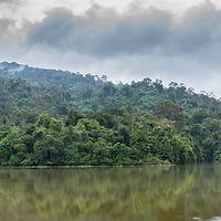 Panoramic view at Pang Sida National Park, Thailand.