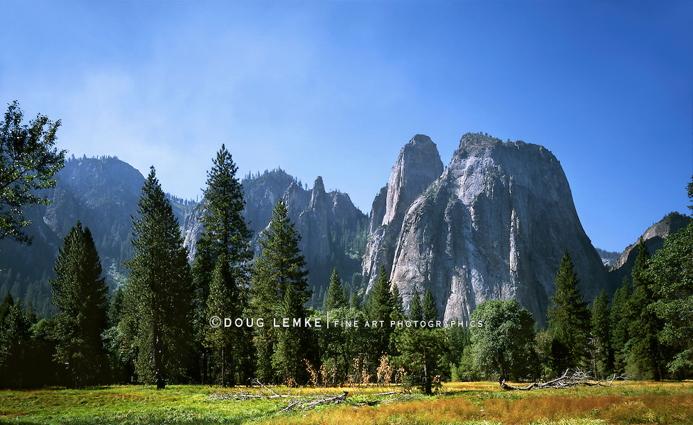 Piles Of Uplifted Igneous Intrusions, Yosemite National Park, California