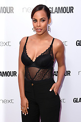 Rochelle Humes attending the Glamour Women of the Year Awards 2017 in association with NEXT, Berkeley Square Gardens, London