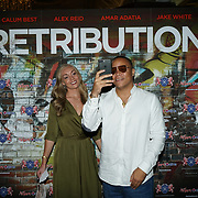 London,England,UK. 5th September 2017.Ashley Gerlach attend the Retribution Film Premiere at Empire Haymarket.