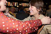 ANNIE HERRIOTT; CAROLINE WALDEGRAVE, Relish: My Life on a Plate by Prue Leith. Hatchards. Piccadilly, London. 14 March 2012.
