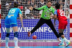 05-12-2019 JAP: Cuba - Slovenia, Kumamoto<br /> Fourth match groep A at 24th IHF Womenís Handball World Championship. Slovenia win 39 - 26 of Cuba / Danielys Herranz Reyes #16 of Cuba