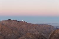Utsikt fra over Sinai fra Mosesfjellet - Mt. Moses