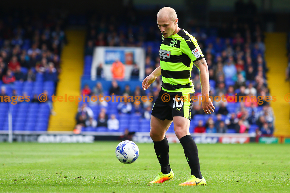 Aaron Mooy of Huddersfield Town during the Sky Bet Championship match between Ipswich Town and Huddersfield Town at Portman Road in Ipswich. October 1, 2016.<br /> Arron Gent / Telephoto Images<br /> +44 7967 642437