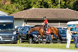 Klimke Ingrid, GER, SAP Hale Bob OLD, Thiemann Carmen<br /> FEI EventingEuropean Championship <br /> Avenches 2021<br /> © Hippo Foto - Dirk Caremans<br />  23/09/2021