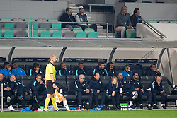 Team Slovenia during football match between National Teams of Slovenia and Cyprus in Final Tournament of UEFA Nations League 2019, on October 16, 2018 in SRC Stozice, Ljubljana, Slovenia. Photo by Urban Urbanc / Sportida