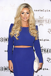 © Licensed to London News Pictures. 04/09/2014, UK. Nicola McLean, In The Style - Party, Project Club London, London UK, 04 September 2014. Photo credit : Brett D. Cove/Piqtured/LNP