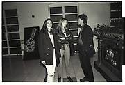 Ghislaine Maxwell, Suzannah Constantine, Mick Jagger, , London. 1991.