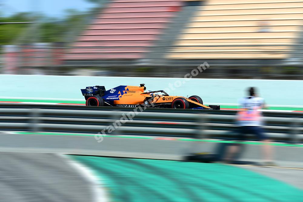 Lando Norris (McLaren-Renault) during practice before the 2019 Spanish Grand Prix at the Circuit de Barcelona-Catalunya. Photo: Grand Prix Photo