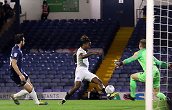 Ivan Toney of Peterborough United scores his sides second goal of the game - Mandatory by-line: Joe Dent/JMP - 20/08/2019 - FOOTBALL - Roots Hall - Southend-on-Sea, England - Southend United v Peterborough United - Sky Bet League One