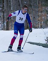 Nordic Race at Proctor Academy.  ©2020 Karen Bobotas Photographer