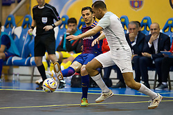 November 22, 2017 - Pescara, PE, Italy - Dyego Henrique Zuffo of FC Barcelona in action during the Elite Round of UEFA Futsal Cup 17/18 match between FC Barcelona and ZVV 'T Knoppount at Giovanni Paolo II arena on November 22, 2017 in Pescara, Italy. (Credit Image: © Danilo Di Giovanni/NurPhoto via ZUMA Press)