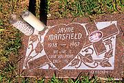 Hollywood Forever Cemetery, Jayne Mansfield Grave, Los Angeles, California (LA)