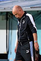 August 1, 2018 - MalmÃÂ, Sverige - 180801 head coach Uwe Rösler of Malmö FF looks dejected during the UEFA Champions League qualifying match between Malmö FF and Cluj on August 1, 2018 in Malmö..Photo: Ludvig Thunman / BILDBYRÃ…N / kod LT / 35511 (Credit Image: © Ludvig Thunman/Bildbyran via ZUMA Press)