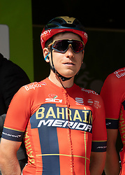 22.04.2019, Kufstein, AUT, Tour of the Alps, 1. Etappe, Kufstein - Kufstein, 144km, im Bild // Hermann Pernsteiner (AUT, Bahraat Merida Pro Cycling Team) during the 1st Stage of the Tour of the Alps Cyling Race from Kufstein to Kufstein (144km) in in Kufstein, Austria on 2019/04/22. EXPA Pictures © 2019, PhotoCredit: EXPA/ Reinhard Eisenbauer