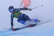 SOELDEN, AUSTRIA. OCTOBER 17 2020:  1st Women's Giant Slalom as part of the Alpine Ski World Cup in Solden on October 17, 2020; Run 1, Sara Rask (SWE) ( Pierre Teyssot/ESPA Images-Image of Sport)