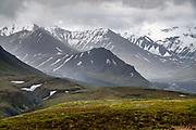 Views from Eielson Visitor Center, deep inside Denali National Park, Alaska, USA.