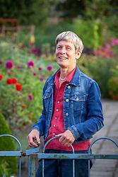 Dineke Logtenberg garden owner and designer at De Boschhoeve