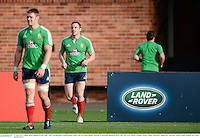 27 June 2013; Tommy Bowe, British & Irish Lions, centre, during squad training ahead of their 2nd test match against Australia on Saturday. British & Irish Lions Tour 2013, Squad Training. Scotch College, Hawthorn, Melbourne, Australia. Picture credit: Stephen McCarthy / SPORTSFILE