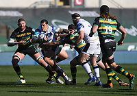 Rugby Union - 2020 / 2021 Gallagher Premiership - Round 11 - Northampton Saints vs Bath - Franklin Gardens<br /> <br /> Bath Rugby's Josh Matavesi in action during this afternoon's game.<br /> <br /> COLORSPORT/ASHLEY WESTERN