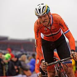 31-01-2016: Wielrennen: WK cyclecross elite: Heusden ZolderHEUSDEN-ZOLDER (BEL) cyclocrossOp het circuit van Terlamen-Zolder streden de elite veldrijders om de mondiale titels in het veld. Lars Boom