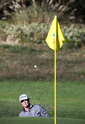 Oct 21, 2018 - Jeju, South Korea - PATTON KIZZIRE of USA action on the 3th guard bunker during the PGA Golf CJ CUP Nine Bridges at Nine Bridges Golf Club. (Credit Image: © JNA via ZUMA Wire)