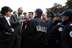 May 3, 2019 - AngoulÍMe, FRANCE - 190503-30-371 - edouard philippe premier ministre - visite a angouleme quartier de la grand font (Credit Image: © Panoramic via ZUMA Press)
