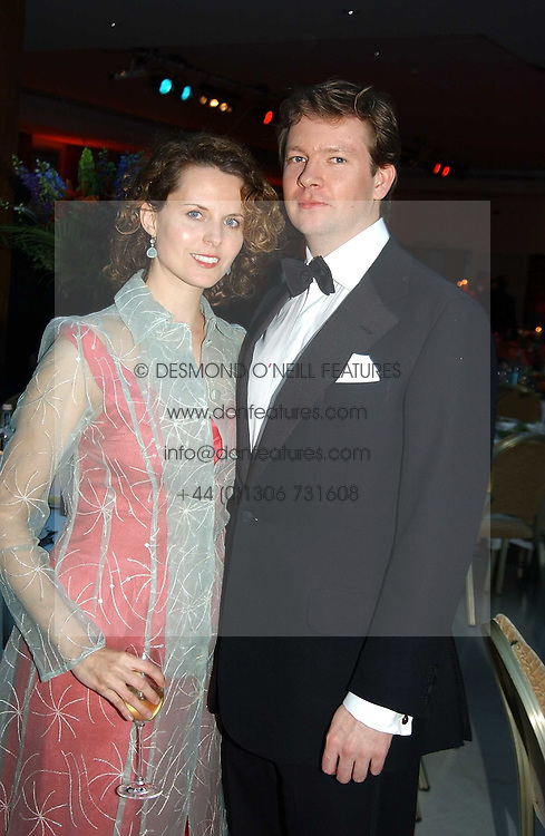 The MARQUESS & MARCHIONESS OF HAMILTON at the Game Conservancy Jubilee Ball in aid of the Game Conservancy Trust held at The Hurlingham Club, London SW6 on 26th May 2005<br /><br />NON EXCLUSIVE - WORLD RIGHTS