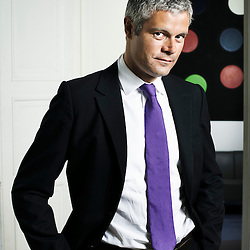PARIS, FRANCE. AUGUST 25, 2011. Laurent Wauquiez, Minister of Higher Education and Research since June 2011. Photo: Antoine Doyen