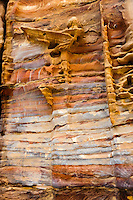 Petra is Jordan's most visited tourist attraction. Colourful rock.