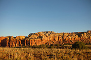 Near Ghost Ranch off Hwy 84 north of Albiquiu. Near mile marker 224