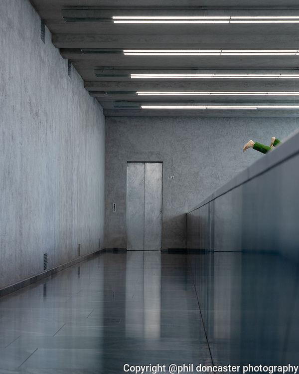 scene from an exhibition at Kunstmuseum Basel Switzerland