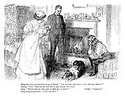 """Betty (who has just heard the story of Gelert). """"And did the man really kill the dog, Daddy?"""" Daddy. """"Yes. You see he thought it had killed his child."""" Betty. """"Would you do the same if Don killed baby?"""" Daddy. """"Certainly."""" Betty (very thoughtfully). """"Poor old Don!"""""""