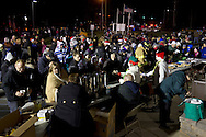 Town of Wallkill , New York - People watch the Town of Wallkill holiday parade and tree lighting on Nov. 24, 2012.
