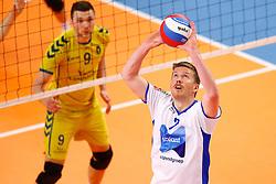 20150426 NED: Eredivisie Landstede Volleybal - Abiant Lycurgus, Zwolle<br />Jeff Zornig (2) of Abiant Lycurgus<br />©2015-FotoHoogendoorn.nl / Pim Waslander
