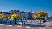 Plac Zgody, znany dziś jako Plac Bohaterów Getta - podczas okupacji jedno z najważniejszych miejsc w getcie krakowskim. Tu dokonywano segregacji żydów przed deportacją.