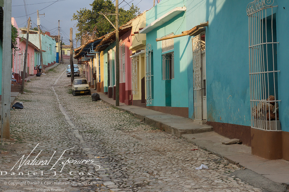 Locals on the streets of Trinidad. Cuba