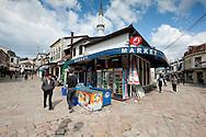 Carsija, the old Turkish market area in Skopje, Macedonia. © Rudolf Abraham