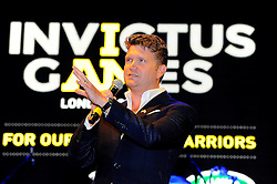 The Ambassador of the United States of America to the United Kingdom of Great Britain and Northern Ireland, Matthew W. Barzun speaks at the Winfield Reception - Photo mandatory by-line: Joe Meredith/JMP - Mobile: 07966 386802 - 9/09/14 - Winfield reception for the Invictus Games - London - Winfield House