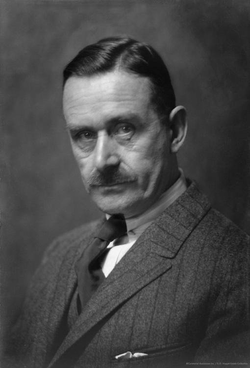 Thomas Mann, German Author, Critic and Nobel Laureate, 1924