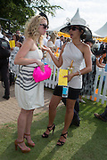 JAIME COOKE; CHELSEA CRATHERN, Glorious Goodwood. Thursday.  Sussex. 3 August 2013